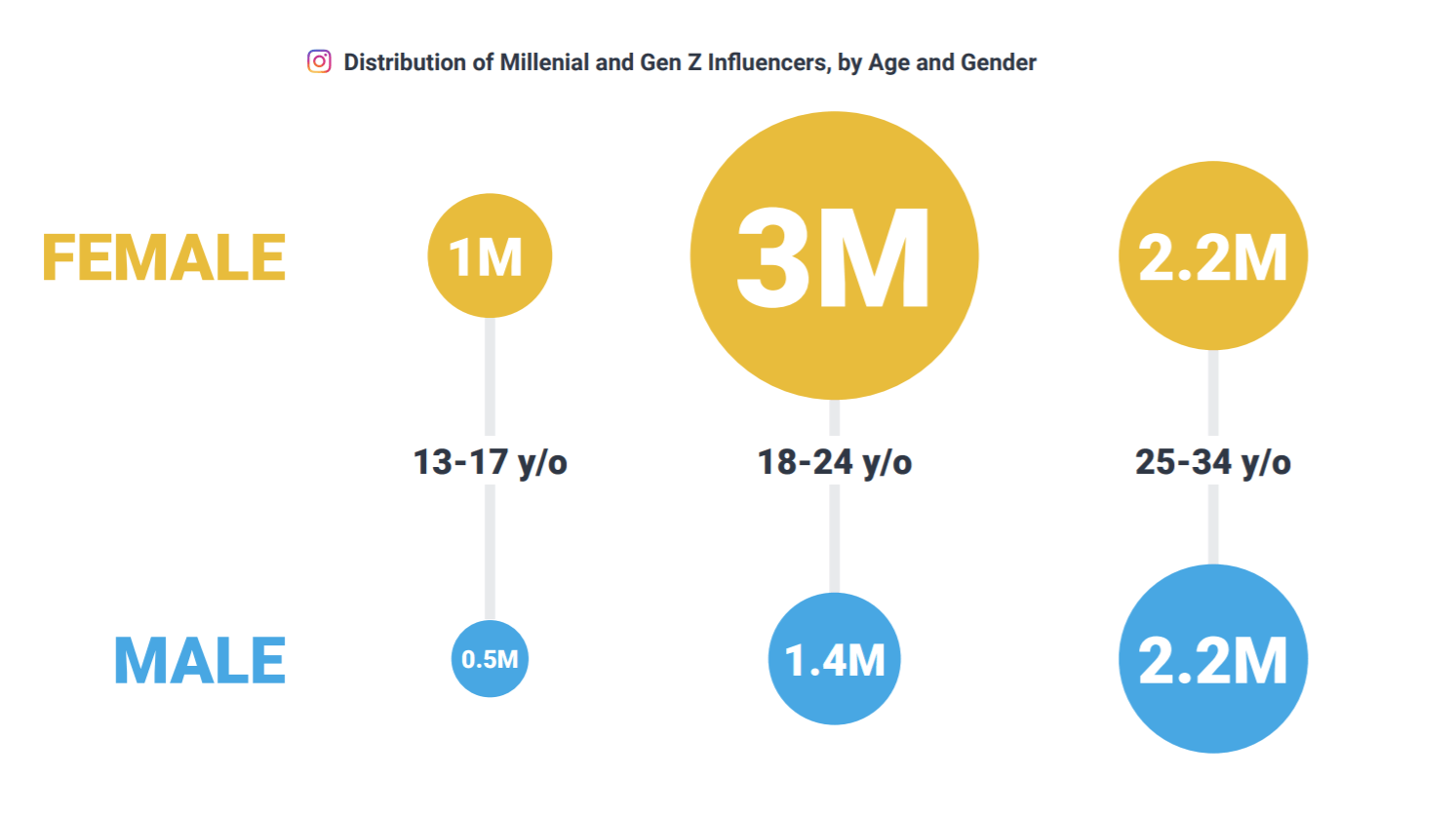 Instagram influencer demographics